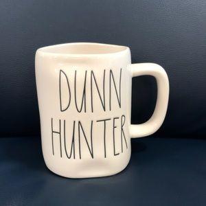 NWT Rae Dunn DUNN HUNTER Mug